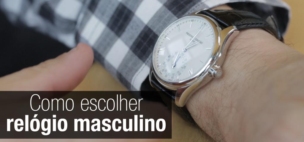 Relógio Masculino, como acertar na escolha e na combinação – Tic Tac ... 07dbe6aa94